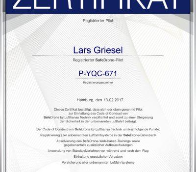 Zertifizierung Lufthansa-Technik
